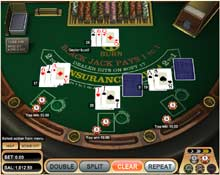 blackjack free flash game