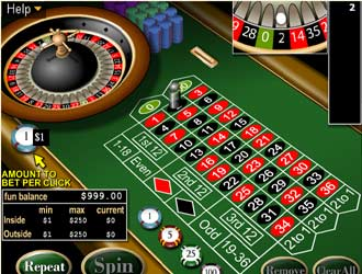 roulette free online game play