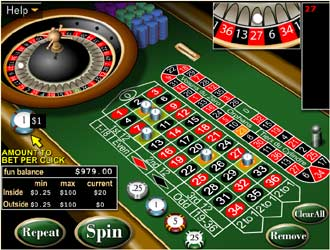free games roulette european