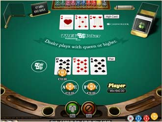 3 card monte flash game