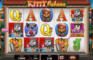 Kitty Cabana Slot Machine - Play for Free Instantly Online