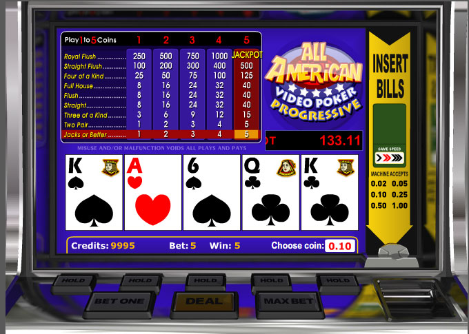 play casino online for free poker american